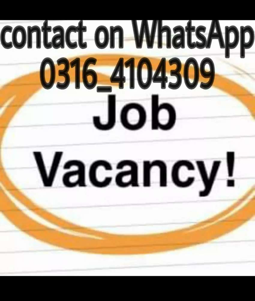 Part time Job available 0