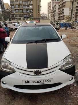 Toyota Etios G, 2011, CNG & Hybrids
