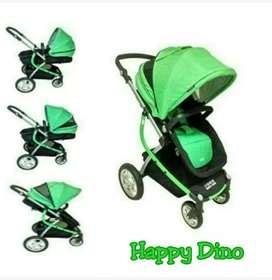 Stroller Babydoes Happy Dino