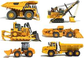 Consturction & Heavy machinery Parts