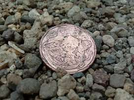Old British Indian coin of 1835