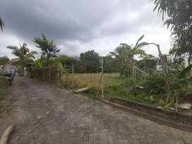 Tanah kavling murah dekat kampus UII Jogja