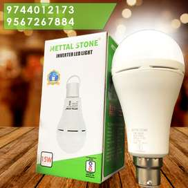 Inverter Bulb LED- Mettal Stone Brand with 6 Months Warranty