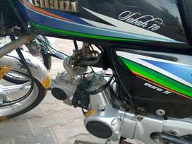 In pattoki ghani self start alloy rim good condition first owner