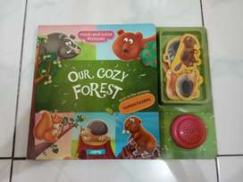 Our Cozy Forest Book Stickers