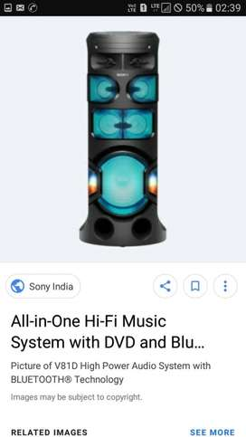 Only for rent Party and funtion dj all in one speaker orignal