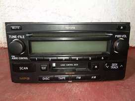 Tape Audio Toyota Second