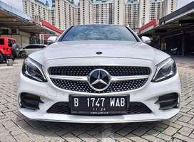 Mercy C300 C 300 AMG 2019 KM 4rb ANTIK Mercedes Benz