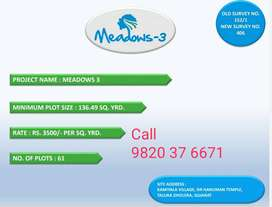 PAY 4000 Rs MONTHLY EMI. GET RESIDENTIAL BUNGALOW PLOT DHOLERA AIRPORT
