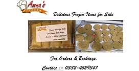 Frozen Food Items for sale