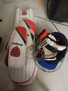 Cricket kit with out bat and ball