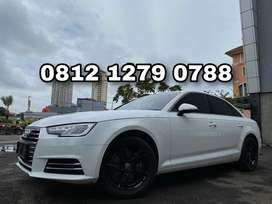 Audi A4 2.0 TFSI 2016 White On Black Electric + Leather Seat Like New!