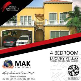 4 Beds Villa,Precinct 35,For Sale,Bahria Town,Karachi