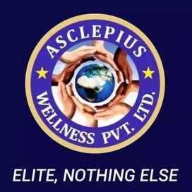 Asclepius wellness Pvt Ltd marketing job