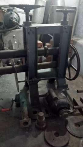 Brass and steel machiange