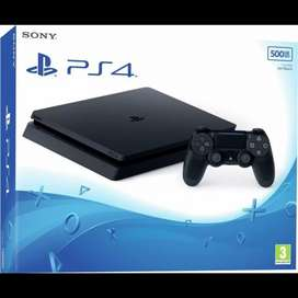 PS4 SLIM 500GB SONY PLAYSTATION 4 NEW GARANSI RESMI INDONESIA