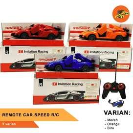 REMOTE CAR SPEED R/C- Mainan Mobil RC- Mobil Radio/Remote Control