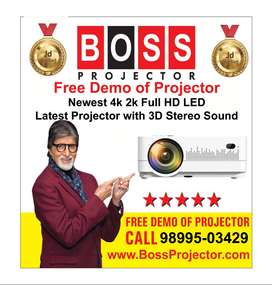 Free Demo of Boss S13 Multimedia Projector with warranty