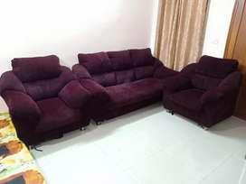 Maharaja Sofa 3+1+1 (used)