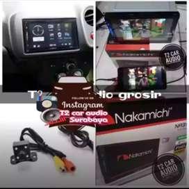 Hot promo 2din NAKAMICHI JAPAN android link led 7inc+camera hd mumer