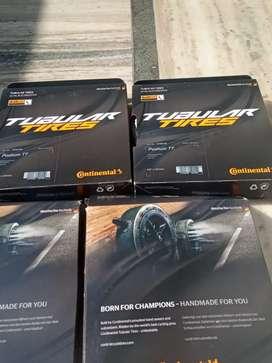 New Continental Podium TT Tubular Bike Tire Black 28 x22mm 700c