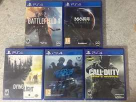 PS4 Games for sale 10/10 condition [LIMITED STOCK] [50% OFF]