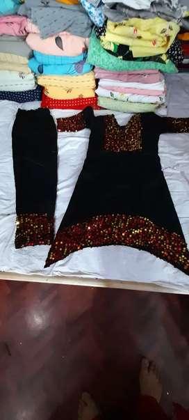 Seven year girls designer suit