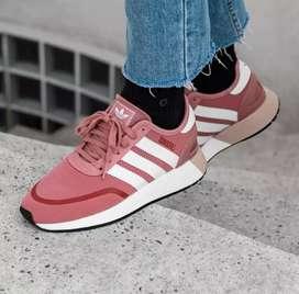 Original BNWB Sepatu Running Adidas N5923 Peach