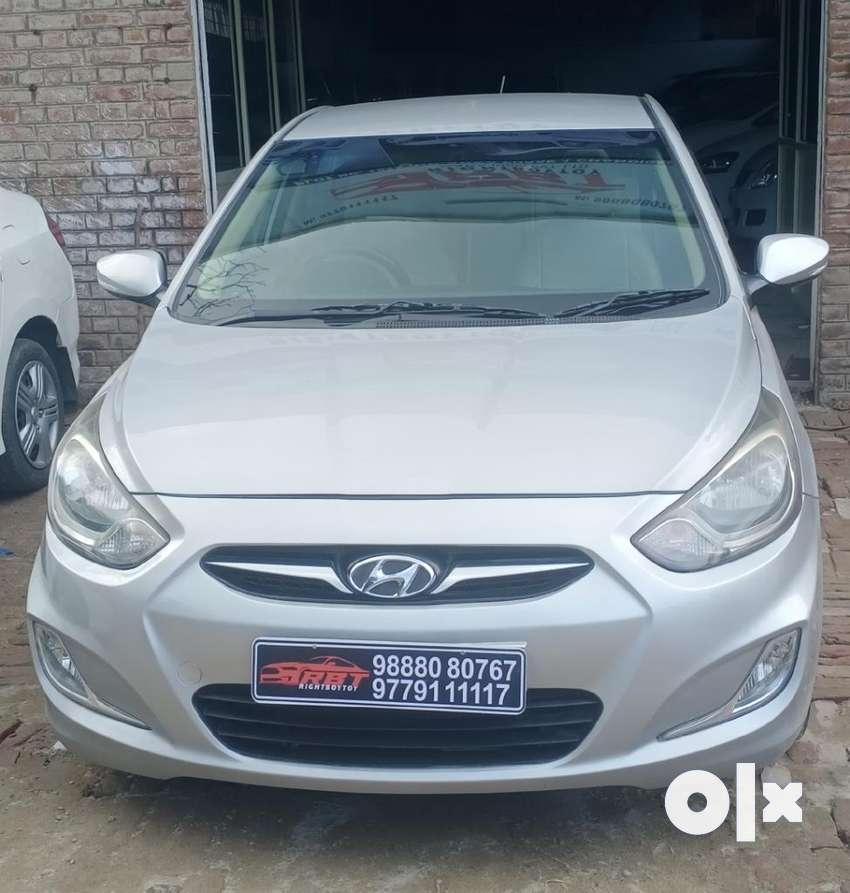 Hyundai Verna Fluidic 1.6 CRDi SX, 2013, Diesel