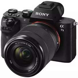 HCI - Kredit Kamera Sony A7ii + Lensa DP Murah dn Gratis 1X Cicilan