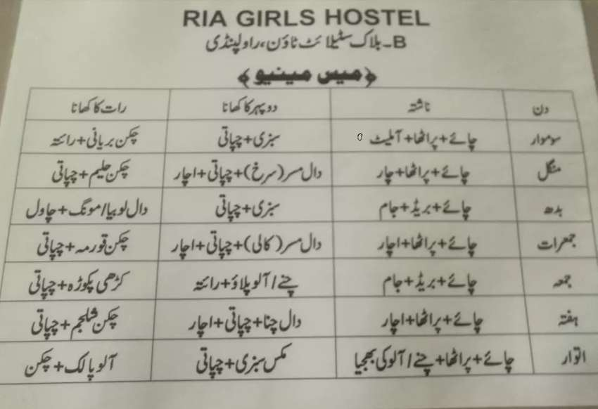 admissions open in Ria Girl hostel, 1,2,3,4seater 0