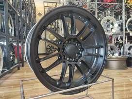 Velg Rays RE30 Matte Black Ring 16 5x114,3 Innova, Ertiga Gogo Ban