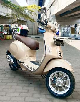 Vespa Primavera 2019 LED IGET ABS Favorit Istimewa Antik Km 1400an