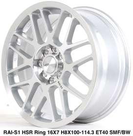 type model RAI-S1 HSR R16X7 H8X100-114,3 ET40 SMF