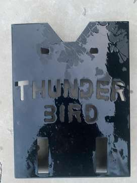 Thunder bird x Handle bar, leg guard, engine plate , Bullet stock seat