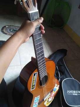 jual gitar yamaha clasic & ukulele andrew concert