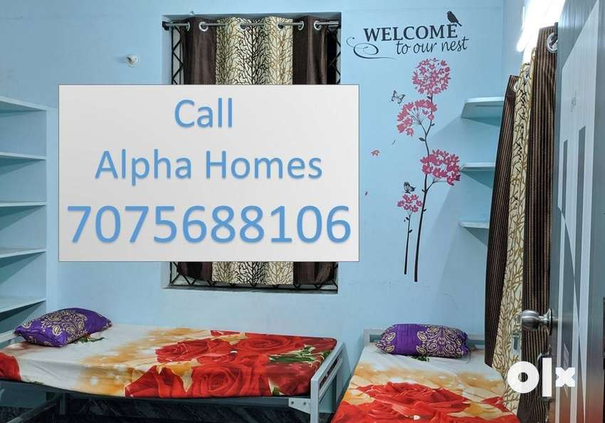 Well Furnished Shared Rooms for Men at Uppal.