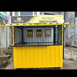 Booth / Container / Stand Untuk ukm,franchise,waralaba dll