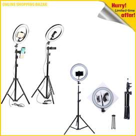 26cm ring light with 9ft full size big Stand