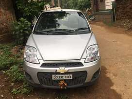 Chevrolet spark in newly condition vehicle.