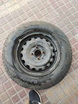 R14 Size apolloJust Buyed new tyres compact for Swift,Hyundai i10 etc