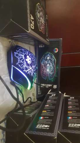 Gaming Color changing Optical Mouse A70