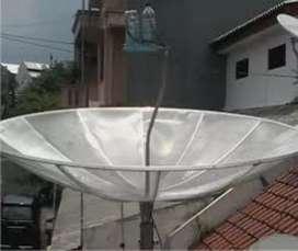 Parabola jaring 2 satelit standar mpeg4