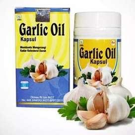 Garlic Oil 77 isi 60 kapsul dan 100 kapsul
