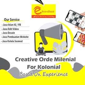 Jasa Digital Marketing Desain Grafis Design logo pembuatan website
