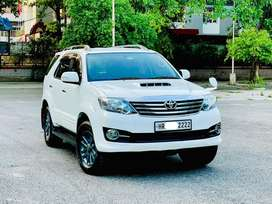Toyota Fortuner 3.0 4x2 Automatic, 2015, Diesel