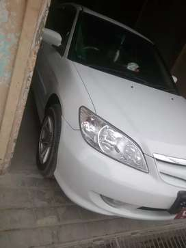 My new car Honda Civic 2005 just drive