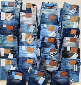 BRANDED MIXLOT DENIM JEANS PANTS STOCK WHOLESALE