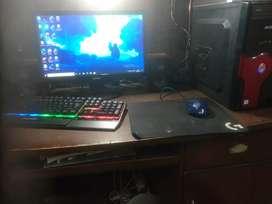 Ultimate gaming setup (cpu,mouse,keyboard and monitor) GTX 1050 Ti Oc