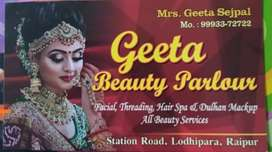 Geeta beauty parlour